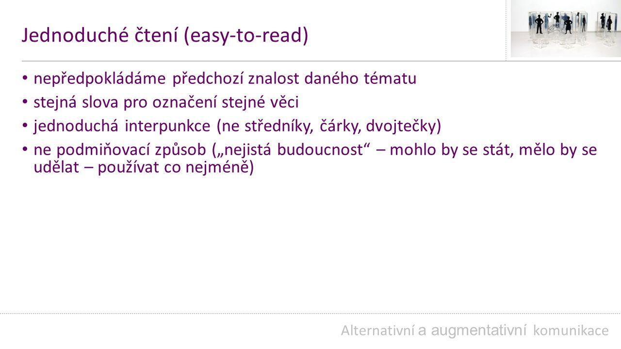 Jednoduché čtení (easy-to-read)