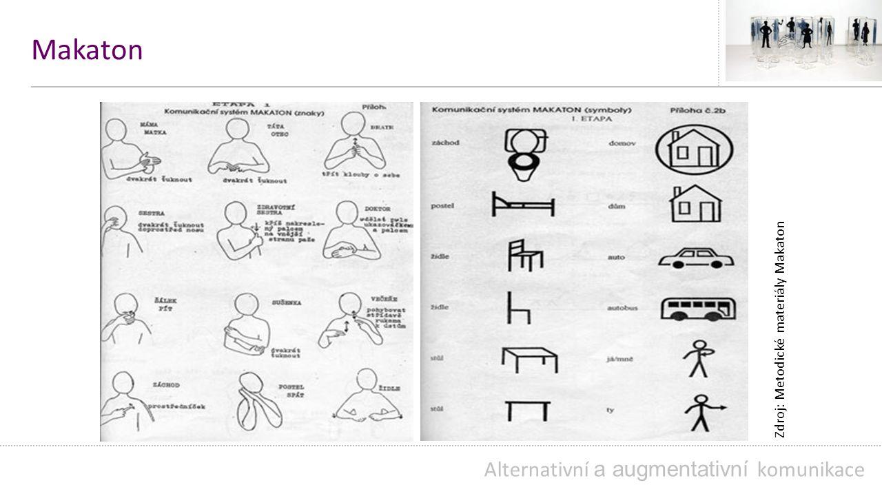Makaton Alternativní a augmentativní komunikace