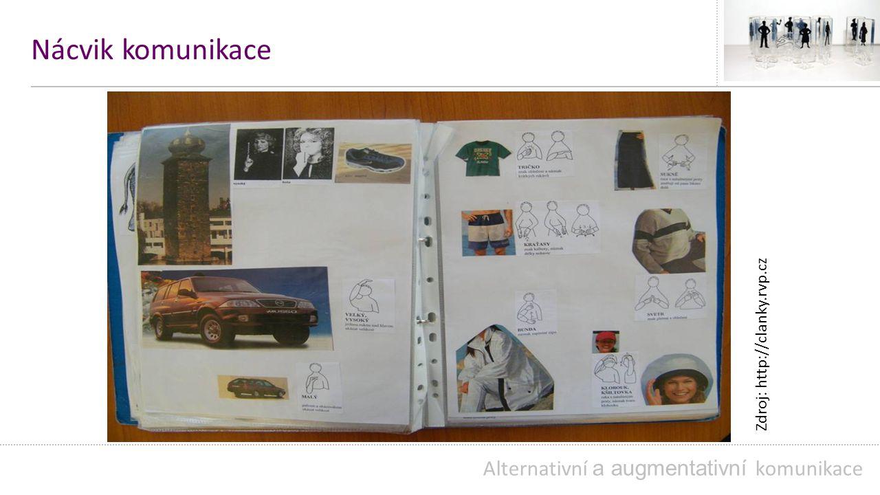 Nácvik komunikace Alternativní a augmentativní komunikace