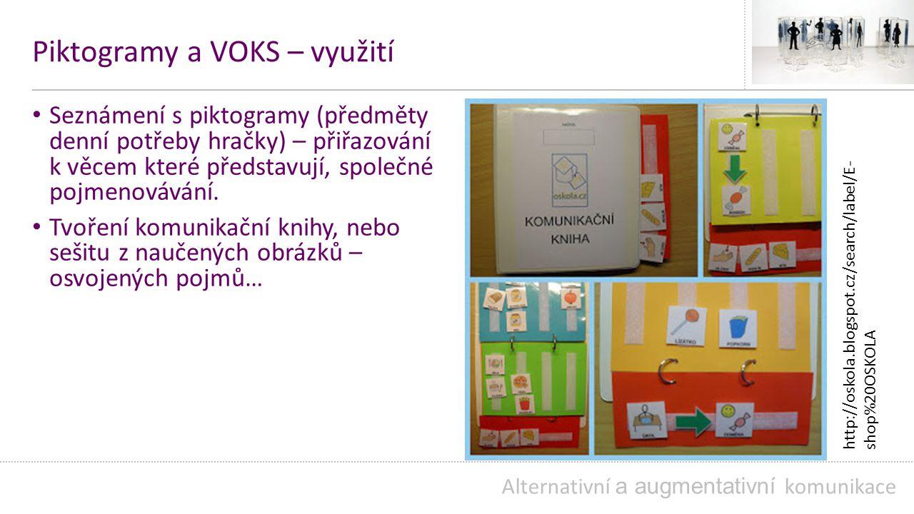 Piktogramy a VOKS – využití