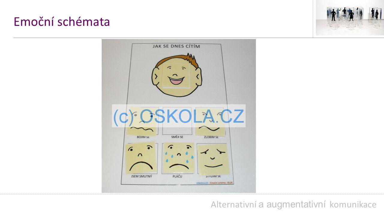 Emoční schémata Alternativní a augmentativní komunikace