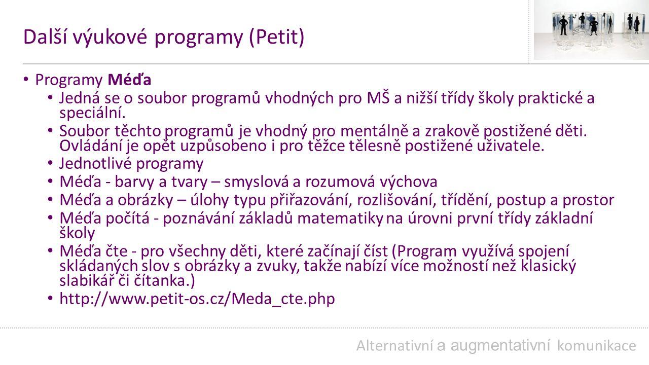 Další výukové programy (Petit)
