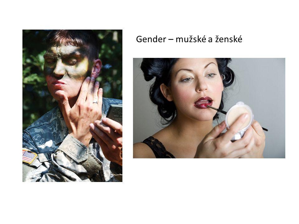 Gender – mužské a ženské