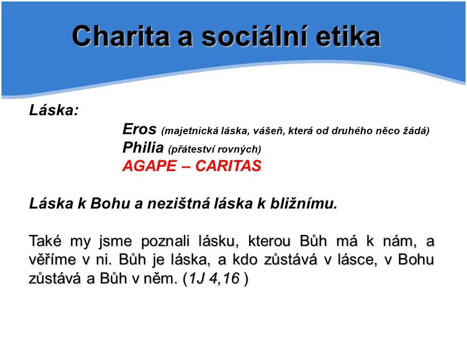 Charita a sociální etika