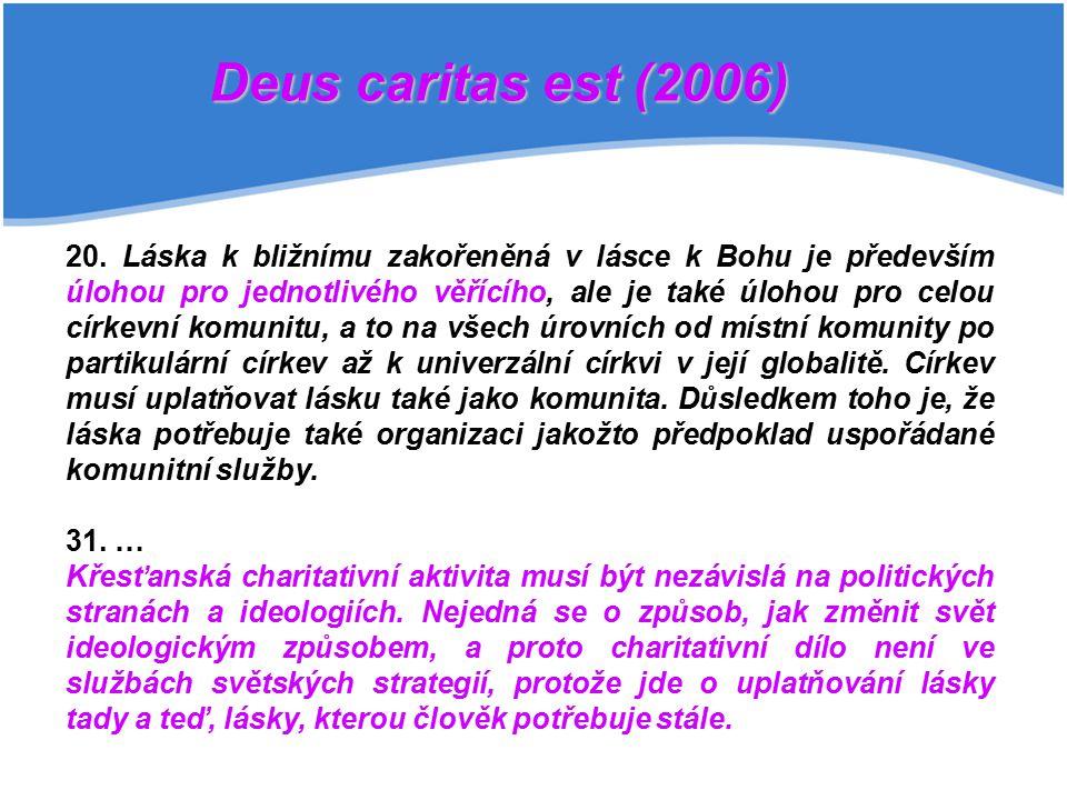 Deus caritas est (2006)