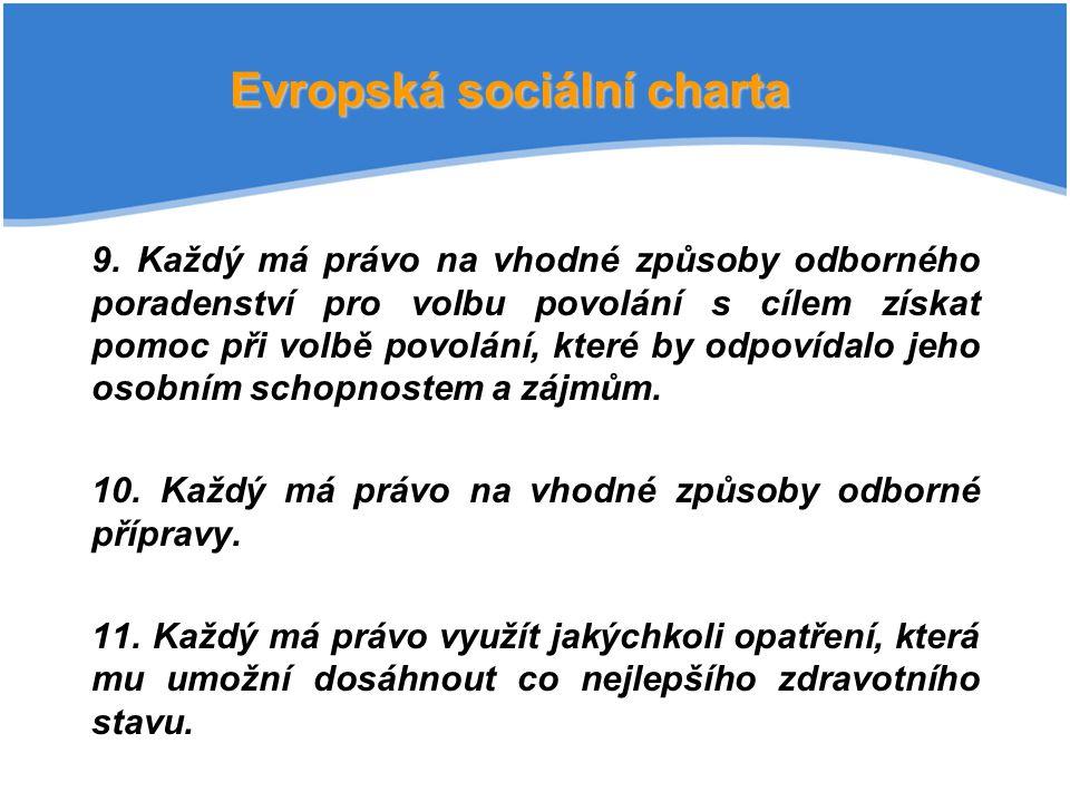 Evropská sociální charta