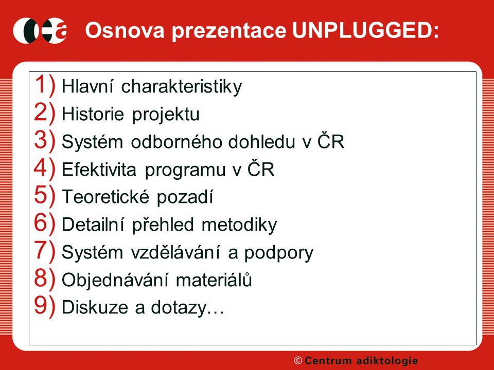 Osnova prezentace UNPLUGGED: