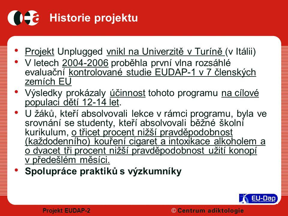 4/8/2017 Historie projektu. Projekt Unplugged vnikl na Univerzitě v Turíně (v Itálii)