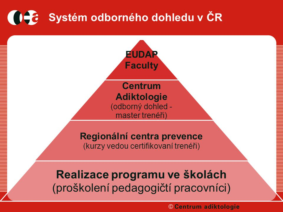 Systém odborného dohledu v ČR