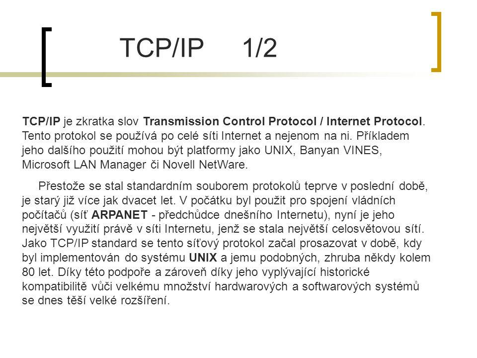 TCP/IP 1/2
