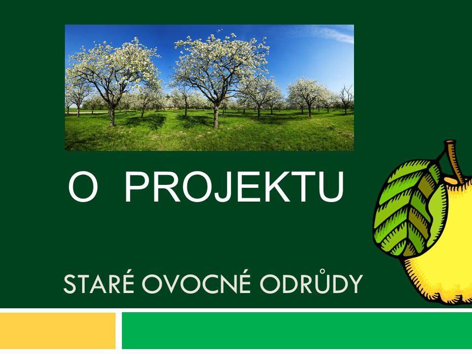 O PROJEKTU Staré ovocné odrůdy