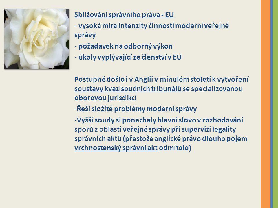 Sbližování správního práva - EU