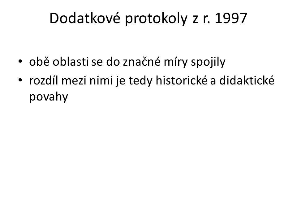 Dodatkové protokoly z r. 1997