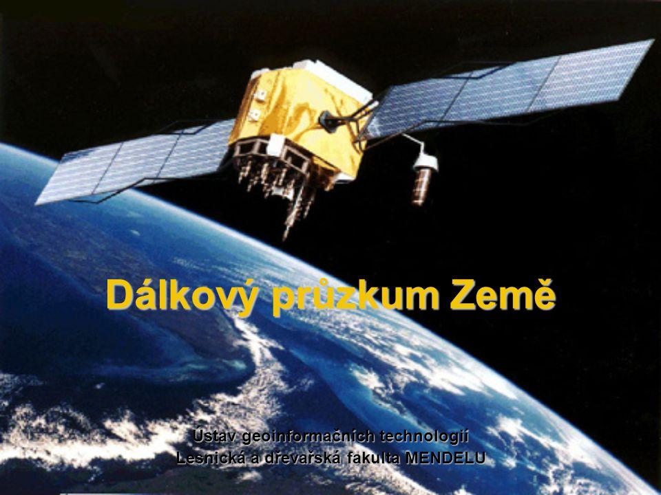 Ústav geoinformačních technologií Lesnická a dřevařská fakulta MENDELU
