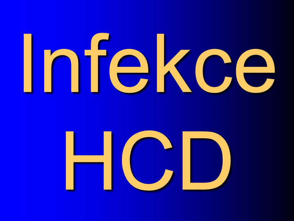 Infekce HCD