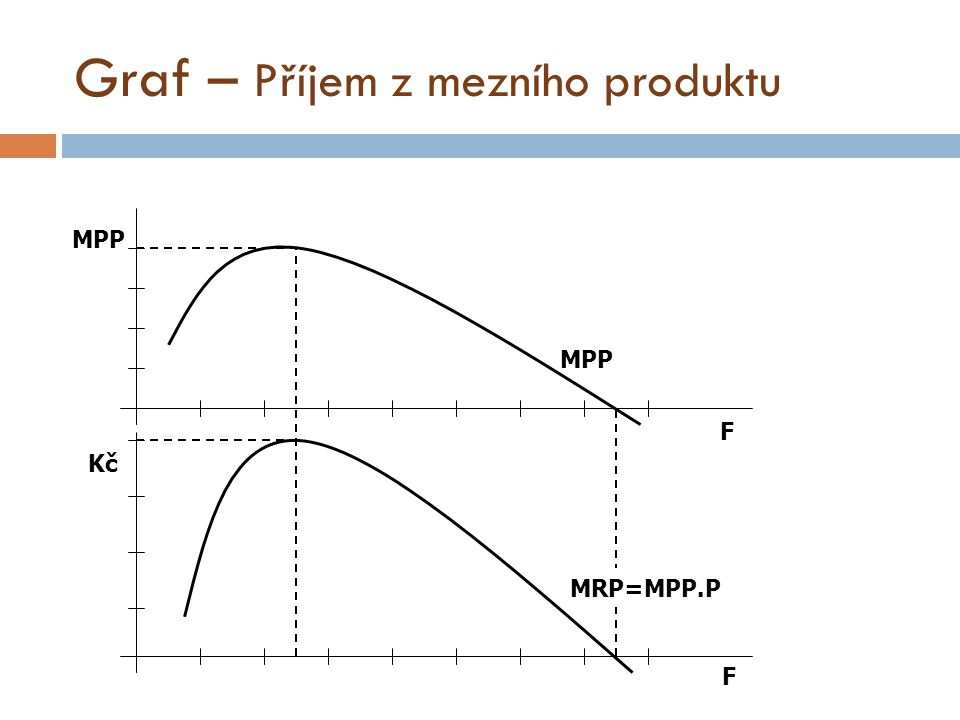 Graf – Příjem z mezního produktu