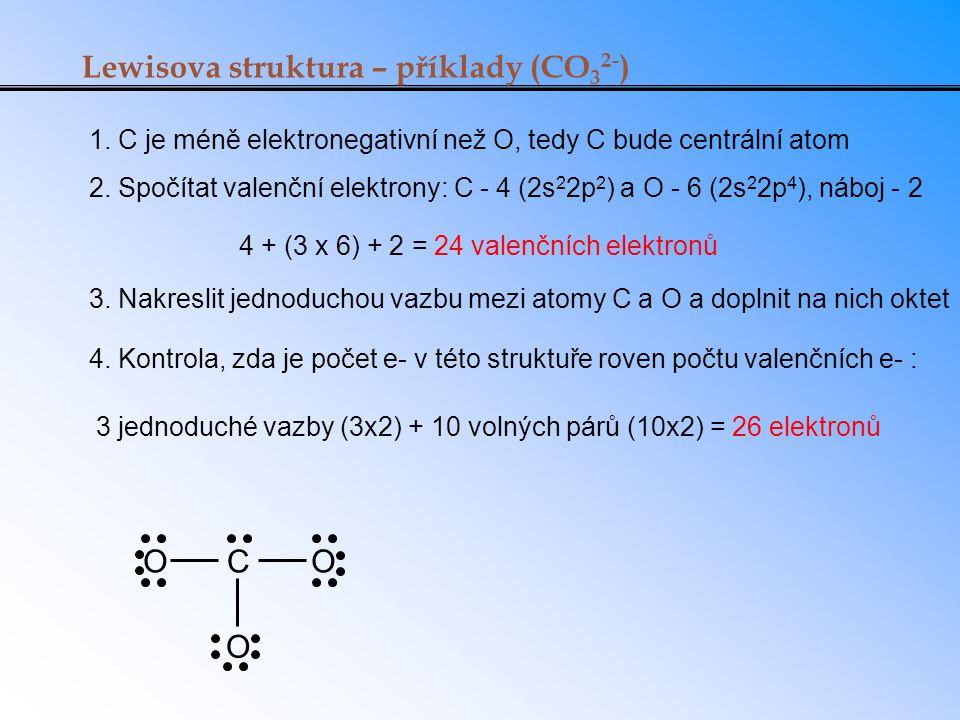 4 + (3 x 6) + 2 = 24 valenčních elektronů
