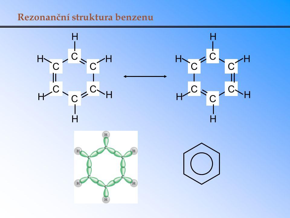 Rezonanční struktura benzenu