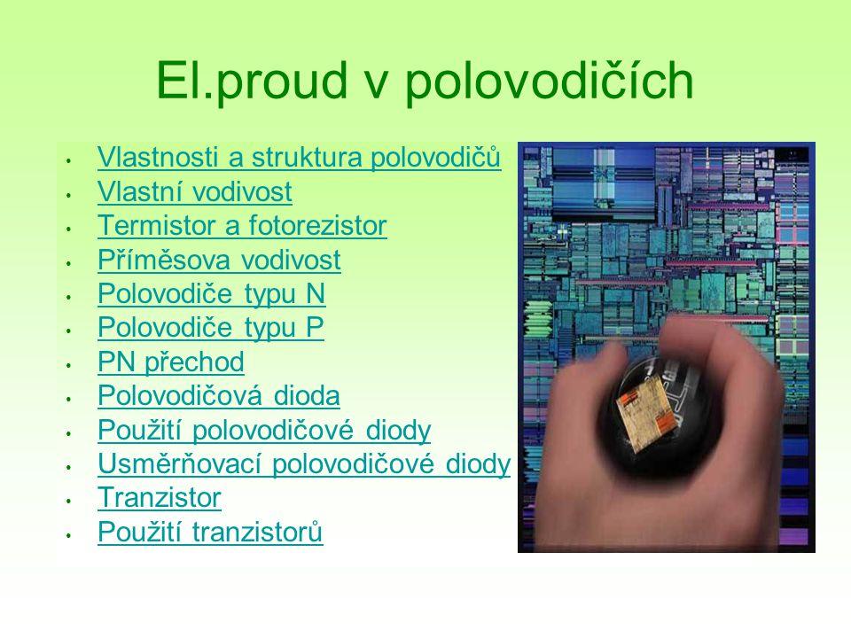 El.proud v polovodičích