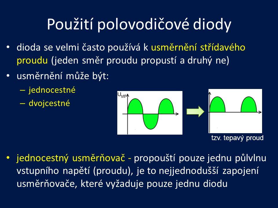 Použití polovodičové diody