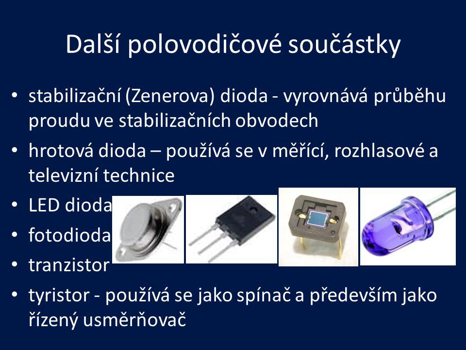 Další polovodičové součástky