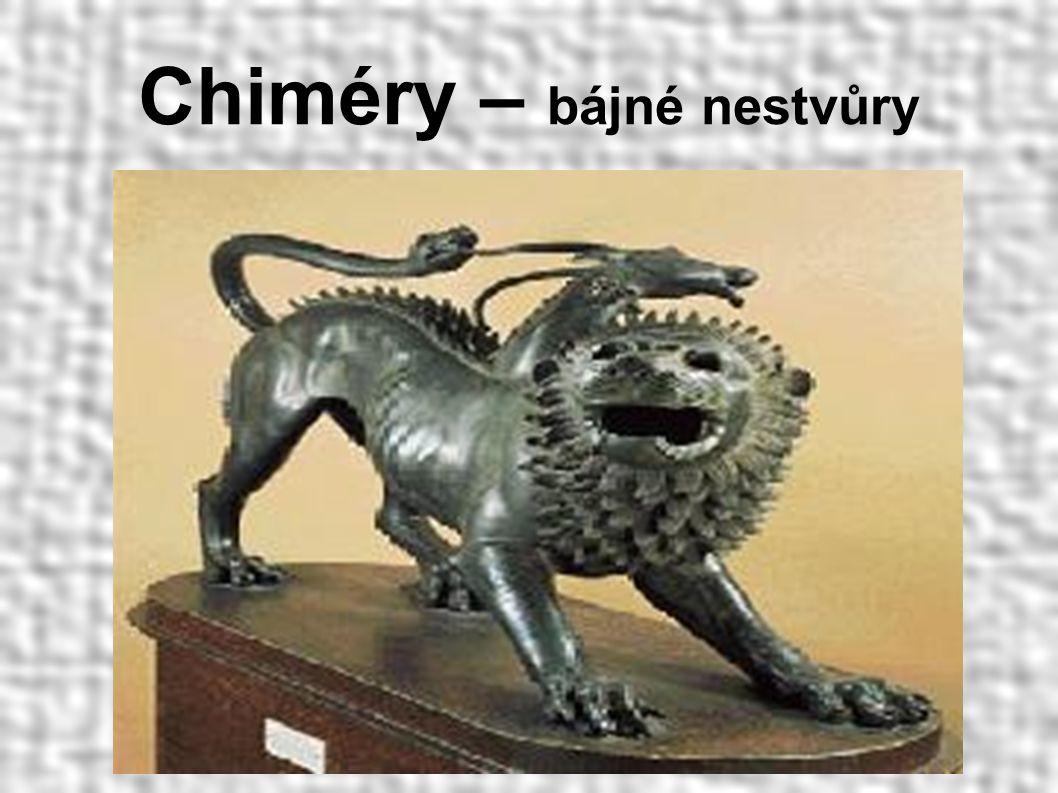 Chiméry – bájné nestvůry