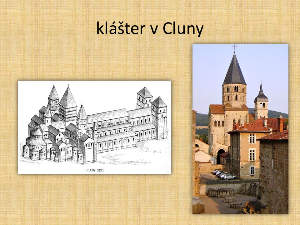 klášter v Cluny