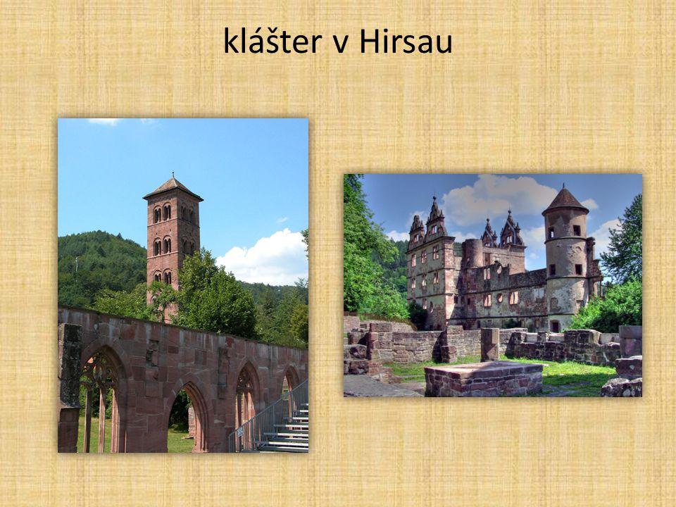 klášter v Hirsau