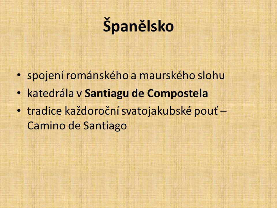 Španělsko spojení románského a maurského slohu