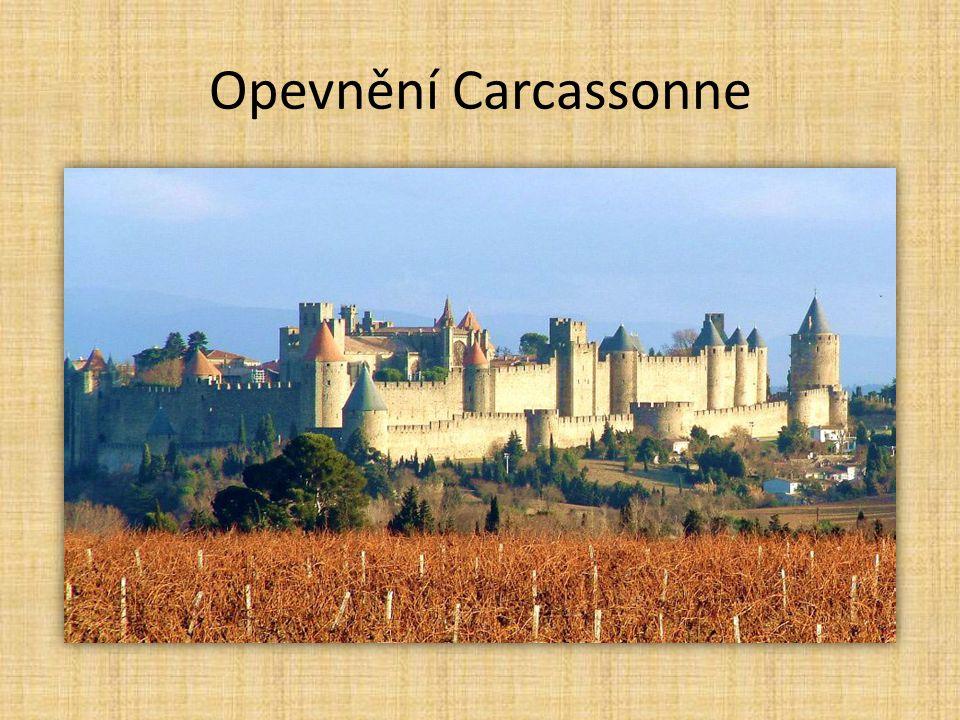 Opevnění Carcassonne