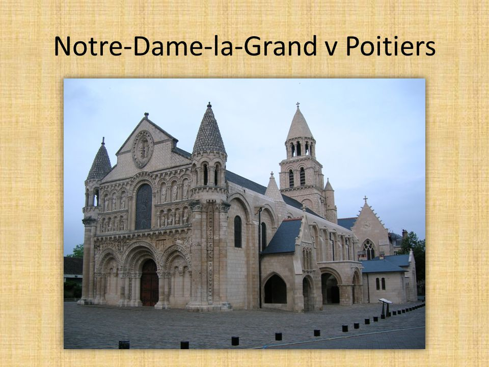 Notre-Dame-la-Grand v Poitiers