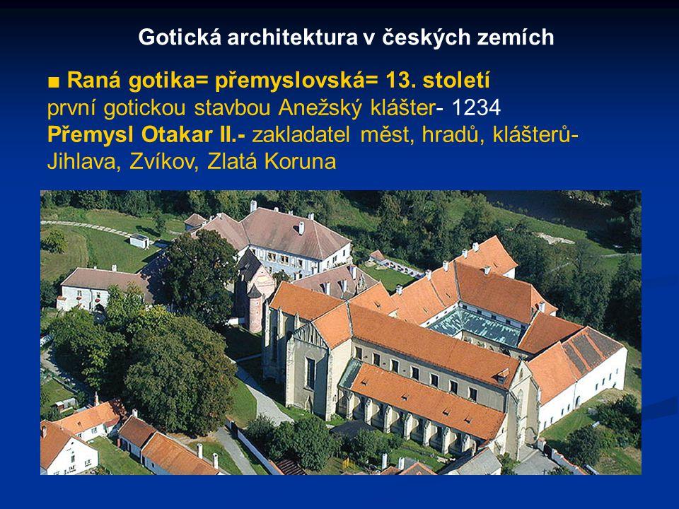 Gotická architektura v českých zemích