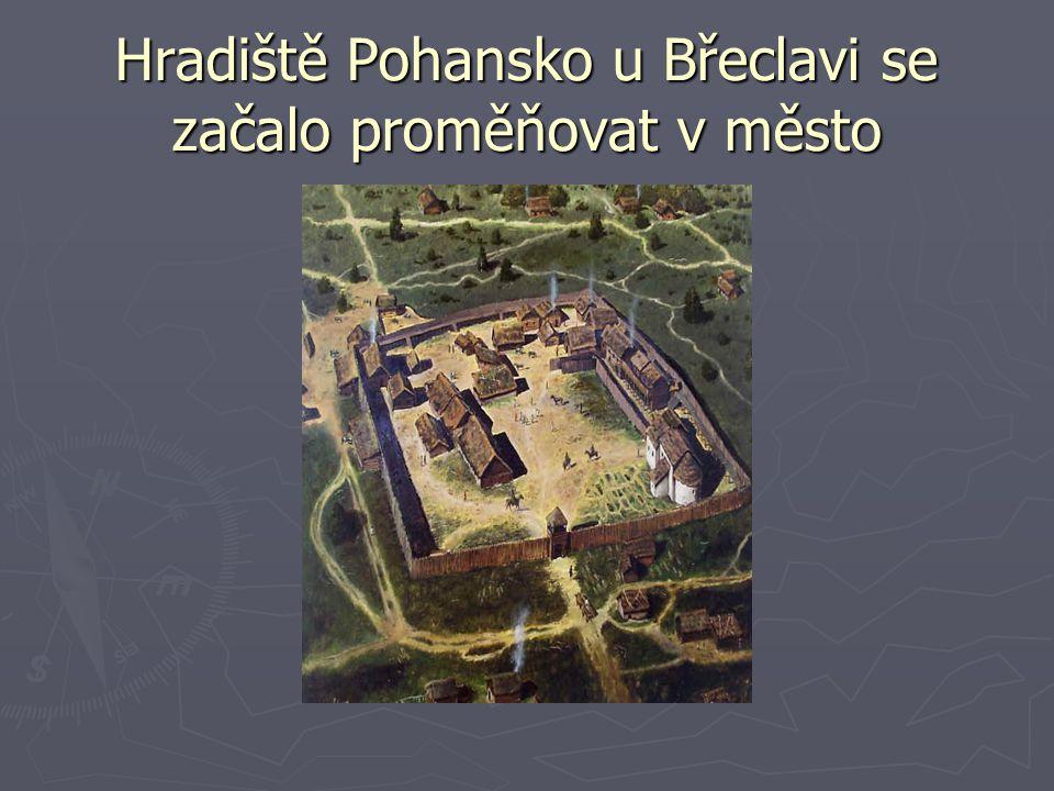Hradiště Pohansko u Břeclavi se začalo proměňovat v město