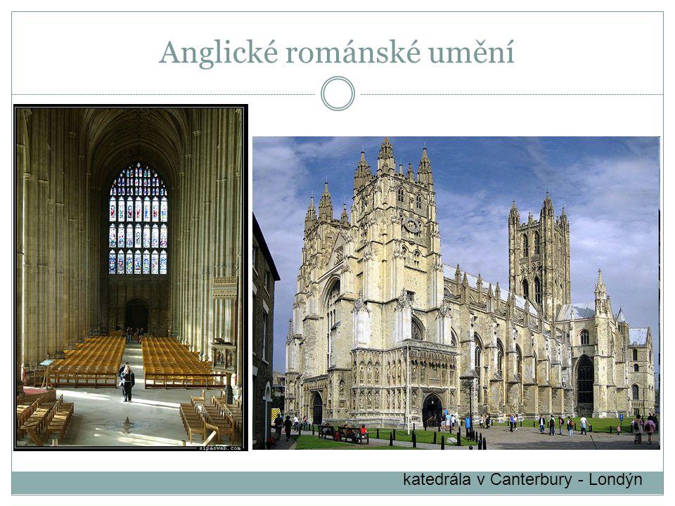 Anglické románské umění
