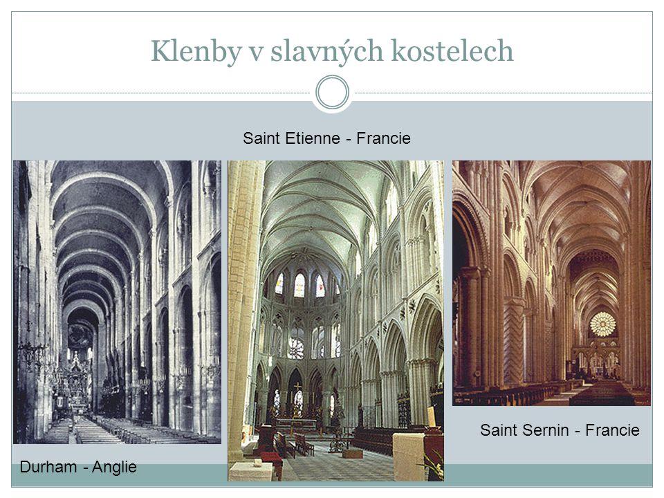 Klenby v slavných kostelech