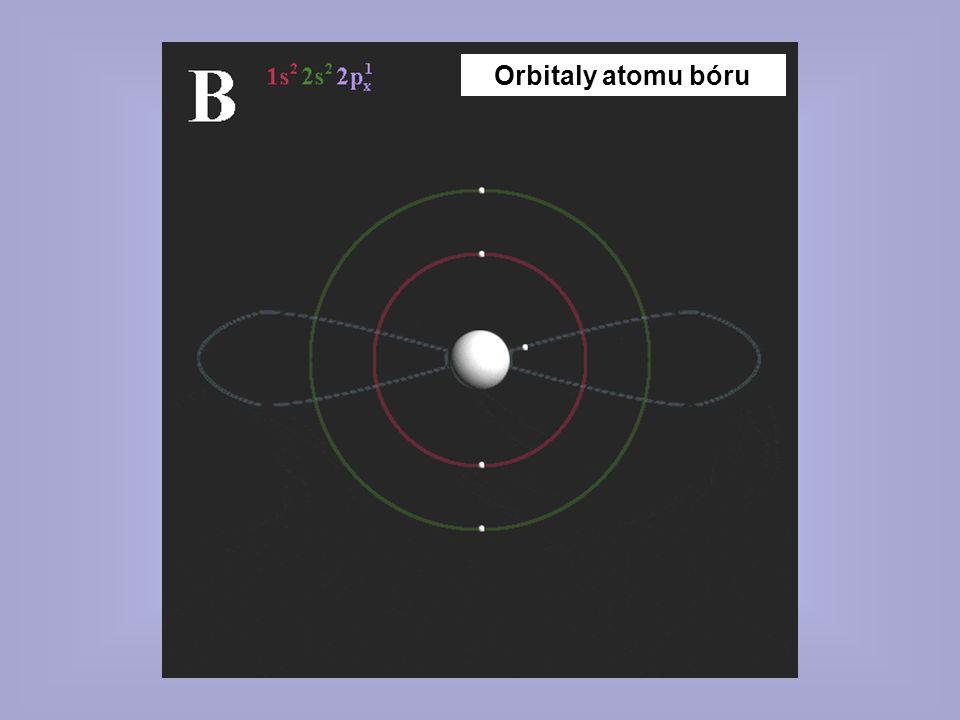 Orbitaly atomu bóru