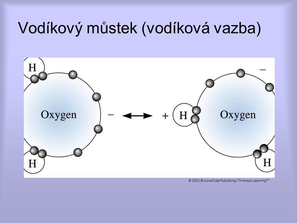 Vodíkový můstek (vodíková vazba)