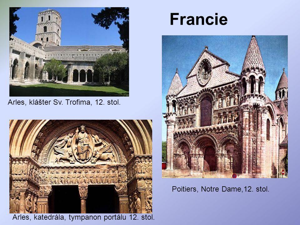 Francie Arles, klášter Sv. Trofima, 12. stol.