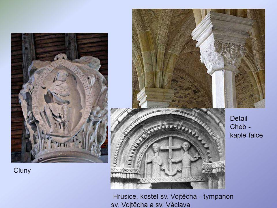 Detail Cheb -kaple falce