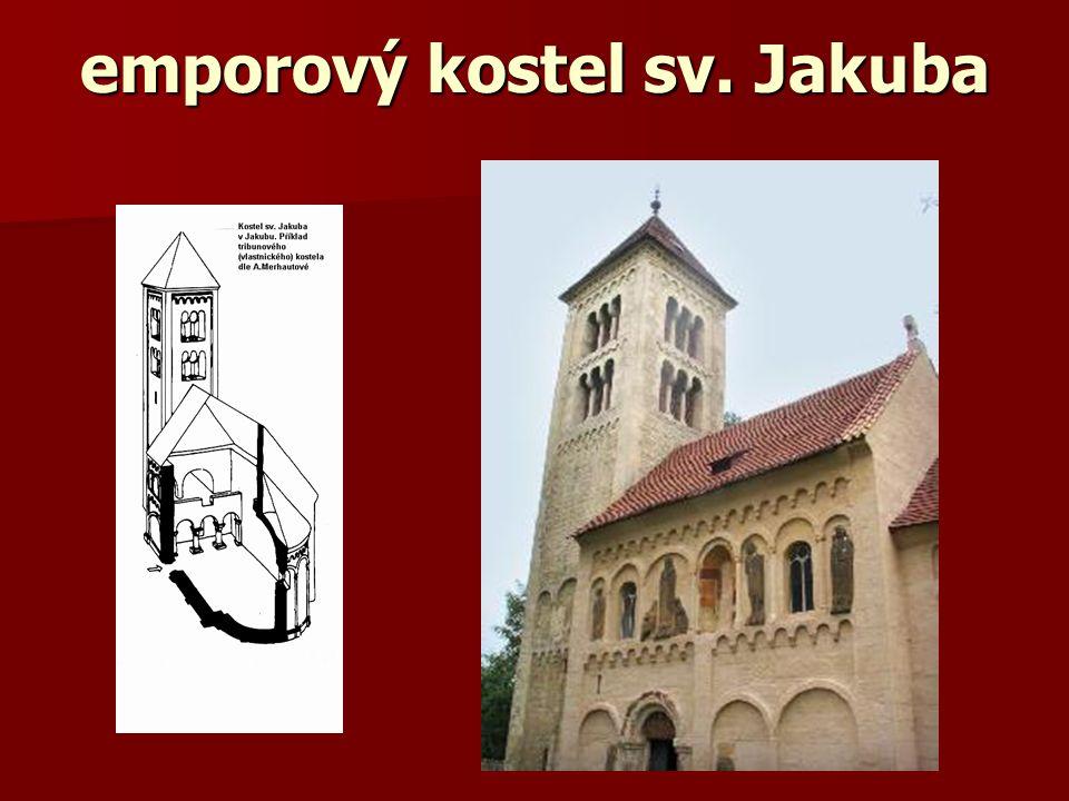 emporový kostel sv. Jakuba