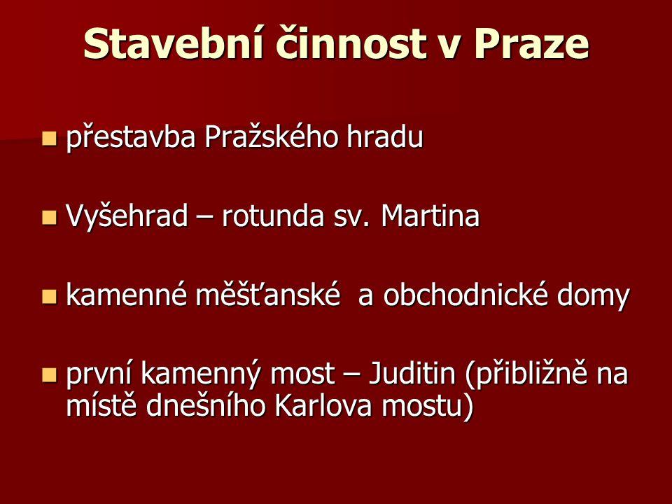 Stavební činnost v Praze