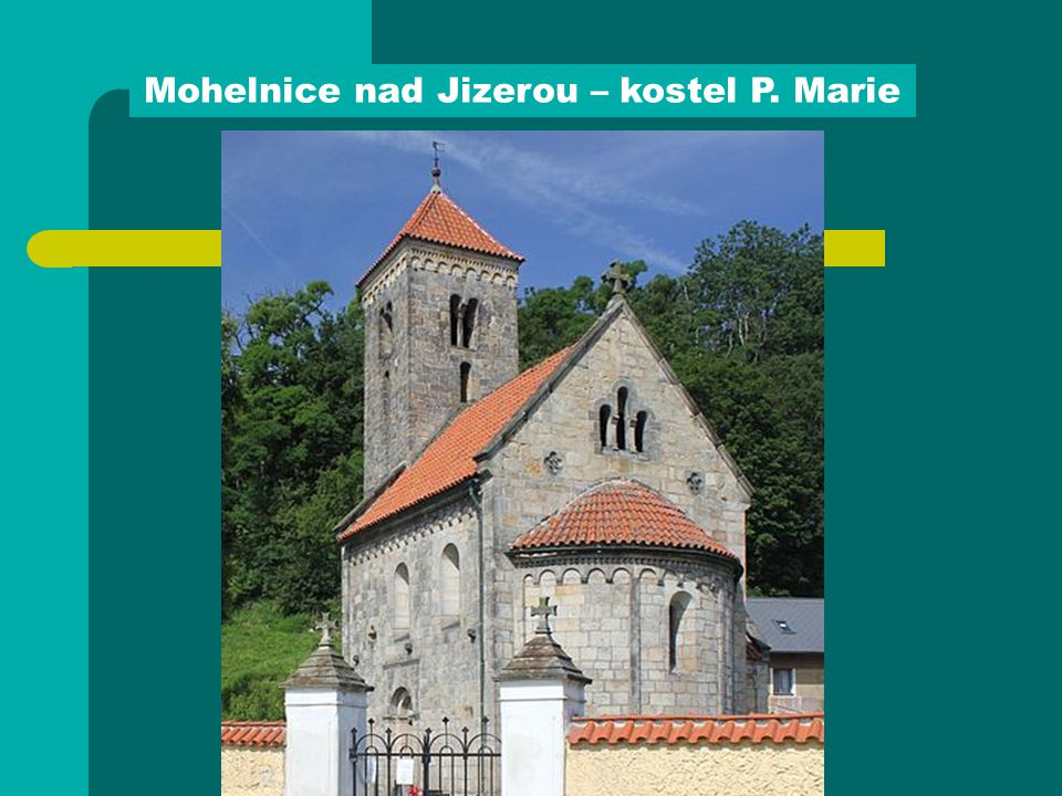 Mohelnice nad Jizerou – kostel P. Marie
