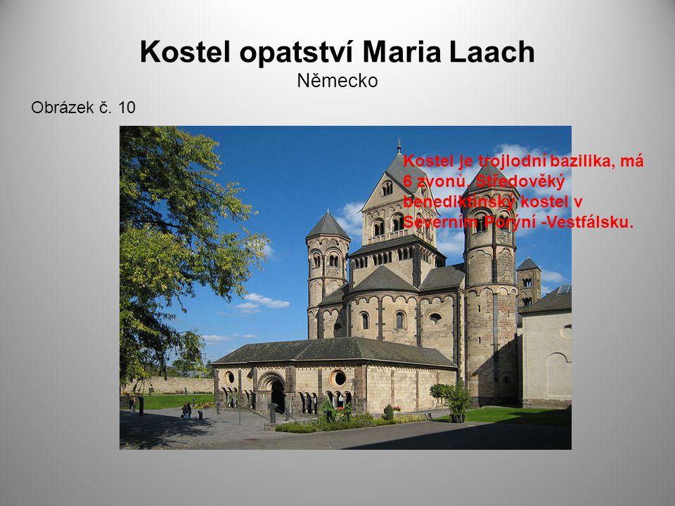 Kostel opatství Maria Laach Německo