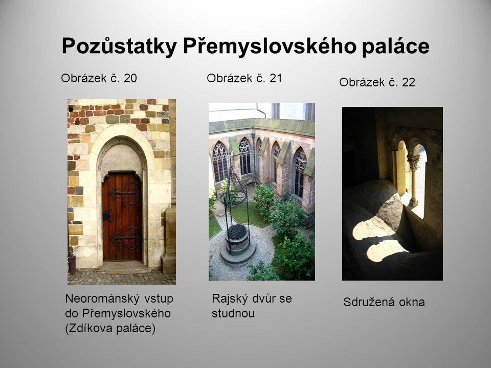 Pozůstatky Přemyslovského paláce