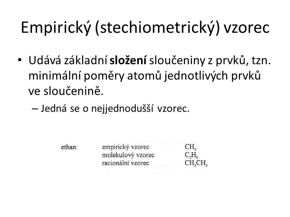 Empirický (stechiometrický) vzorec