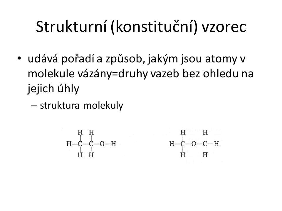 Strukturní (konstituční) vzorec