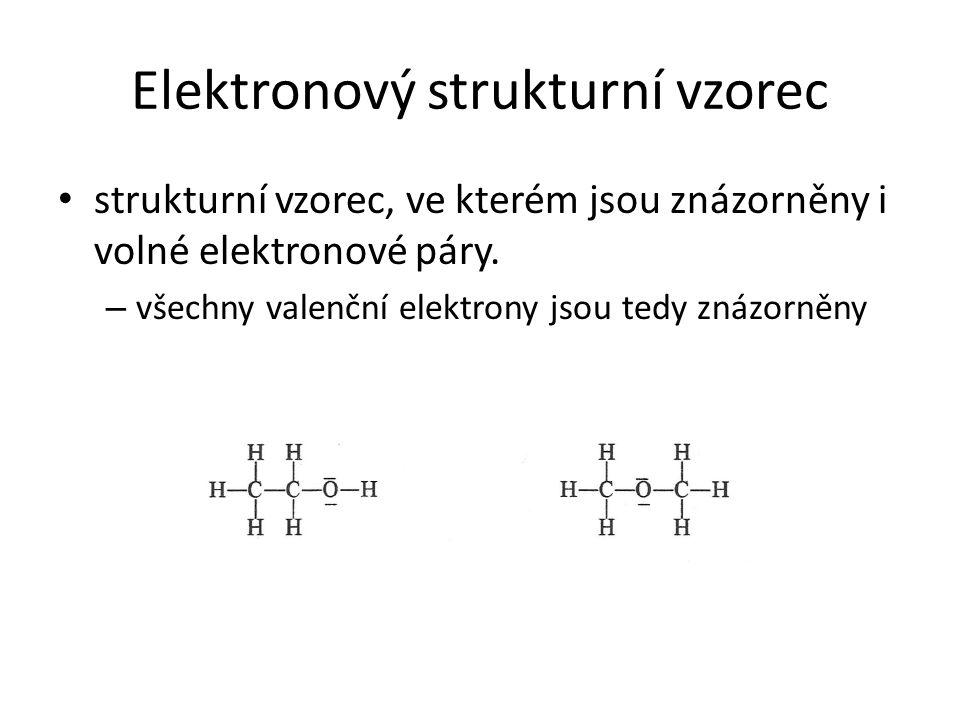 Elektronový strukturní vzorec