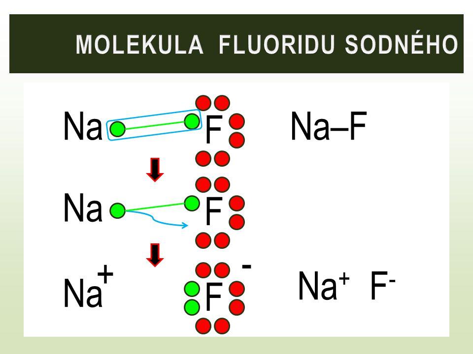 Molekula fluoridu sodného