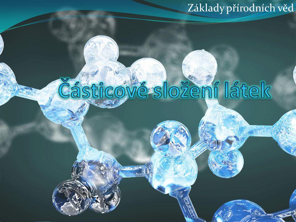 Částicové složení látek
