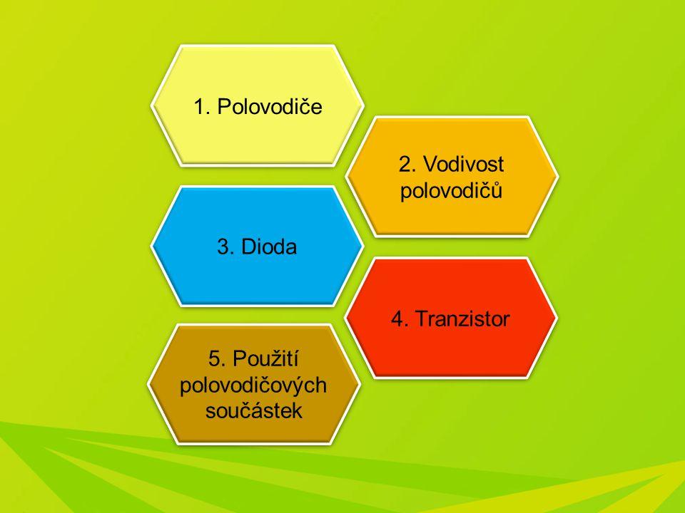 5. Použití polovodičových součástek